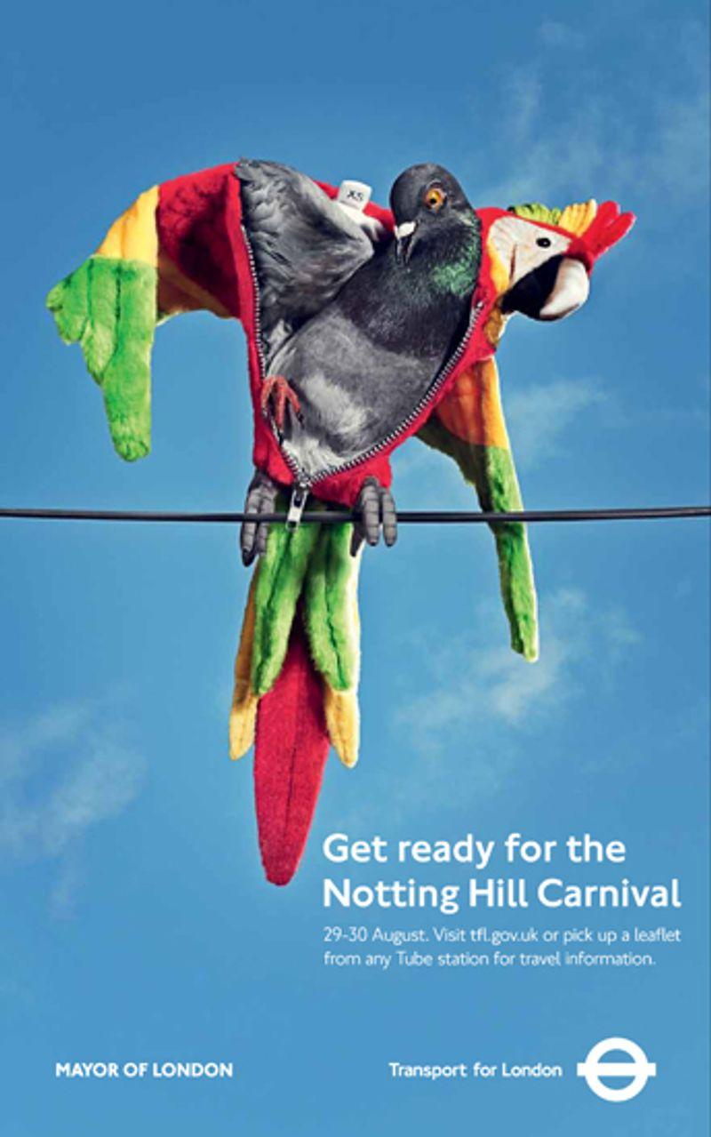 TFL Notting Hill Carnival