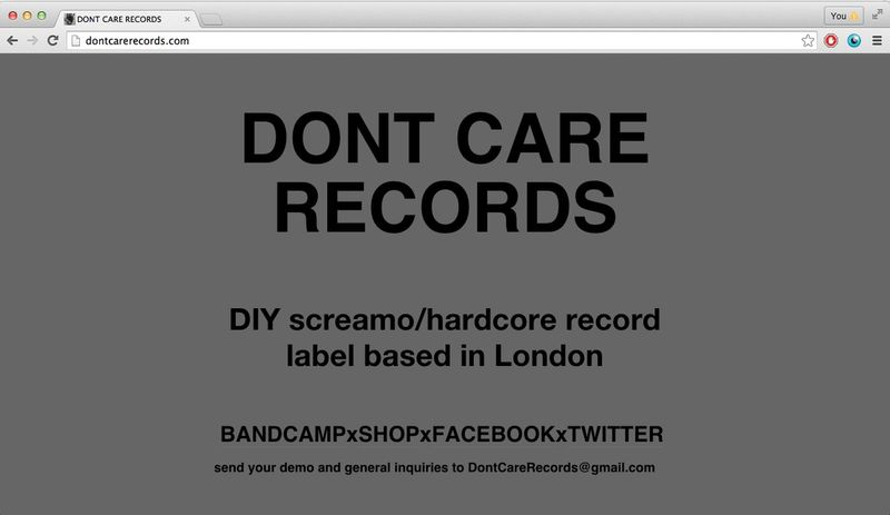 Dont Care Records