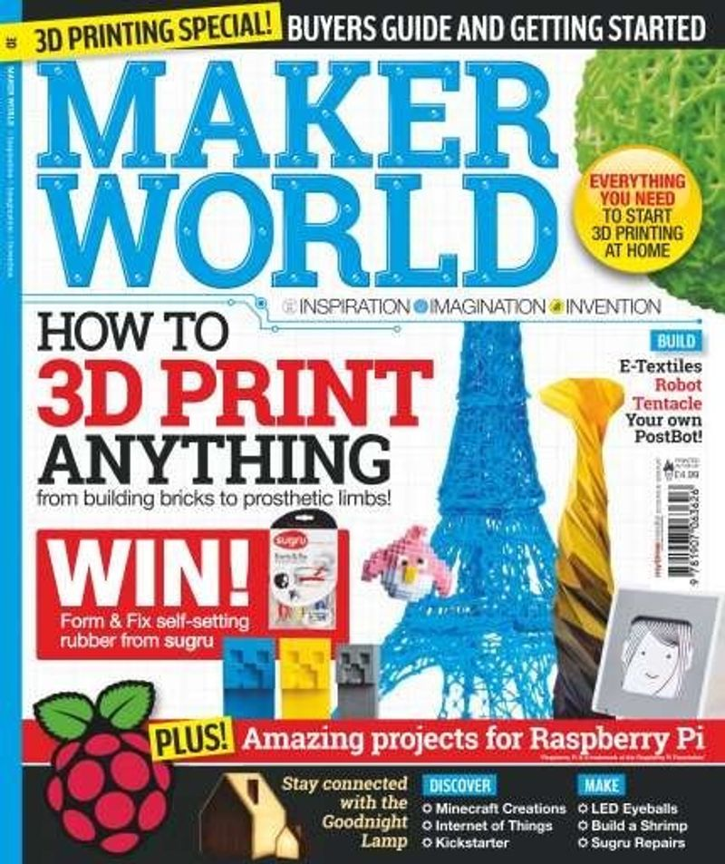 Articles and Interview for Maker World magazine