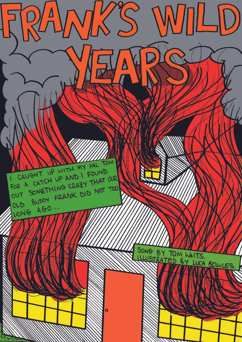 Frank's Wild Years comic