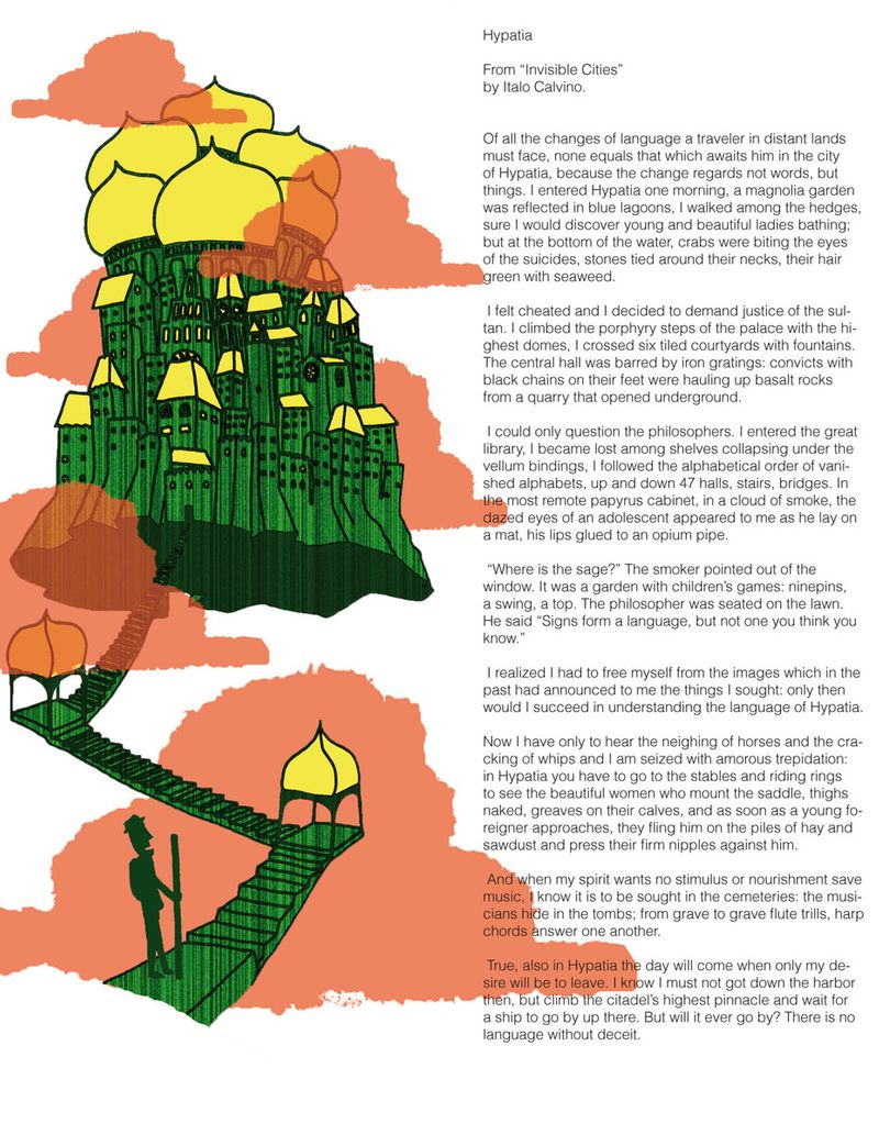 Editorial Illustration project