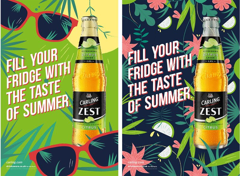 Alex Tait for Carling Zest with Creature London