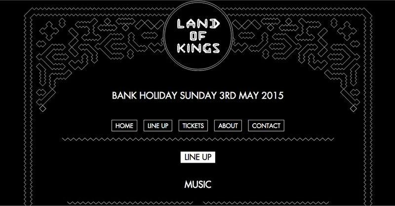 Copy for Land of Kings Festival