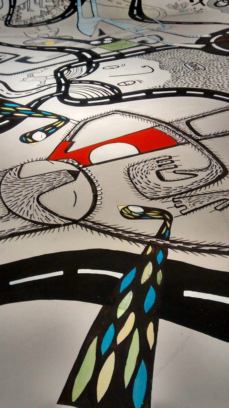Peugeot my108 Rapport Magazine : Street Art