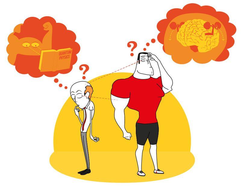 Brain vs. Muscle
