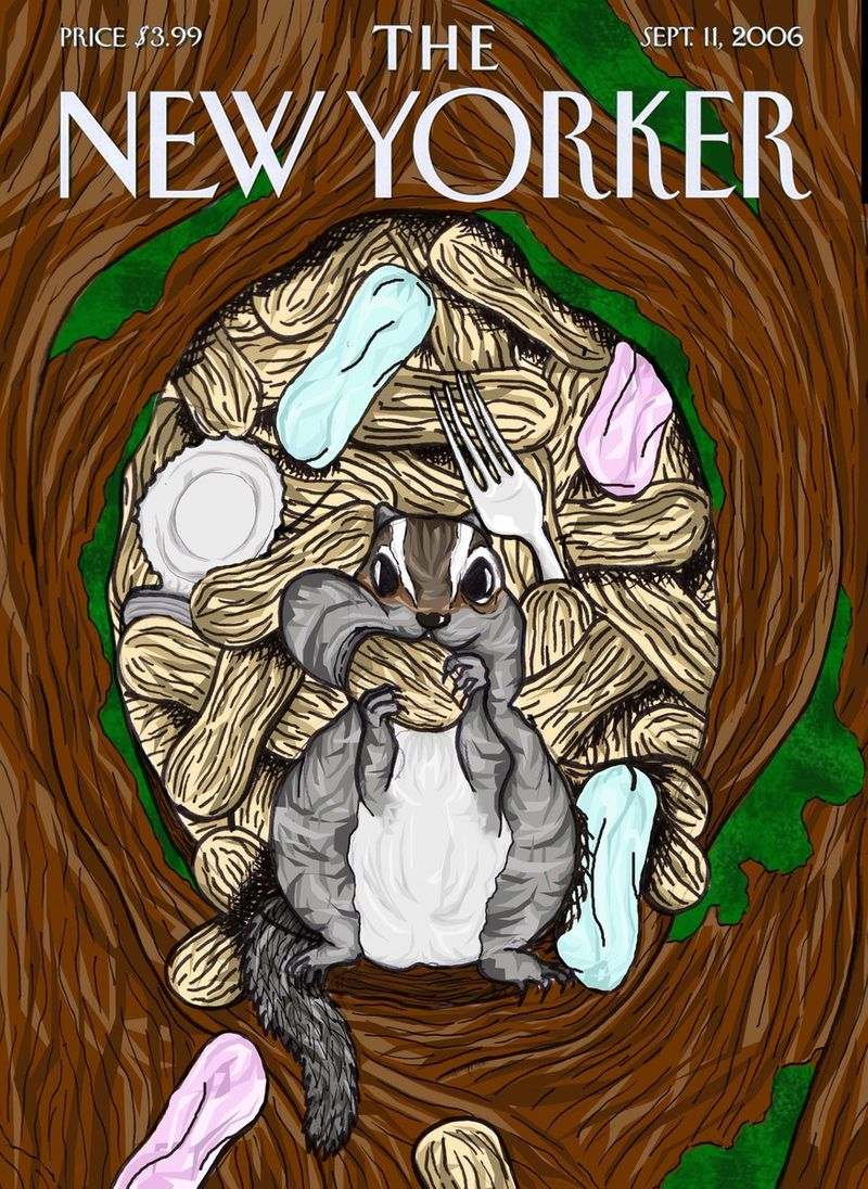 The New Yorker 'Hoarding' Cover