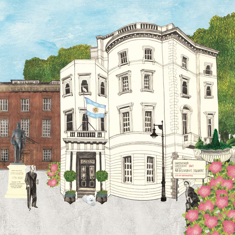 Argentine Ambassador's Residence, London