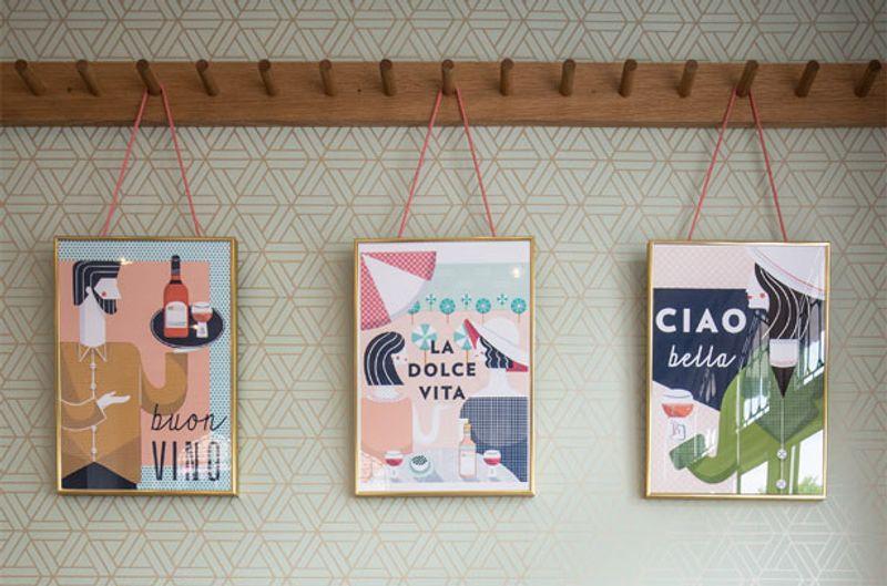 Prints for ASK Italian