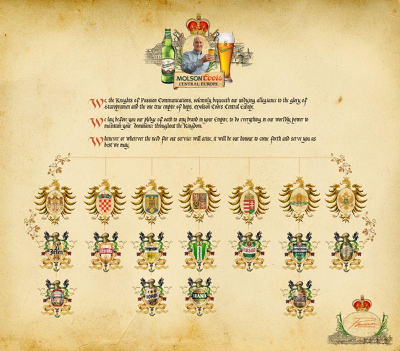Staropramen/Molson Coors Coat of Arms
