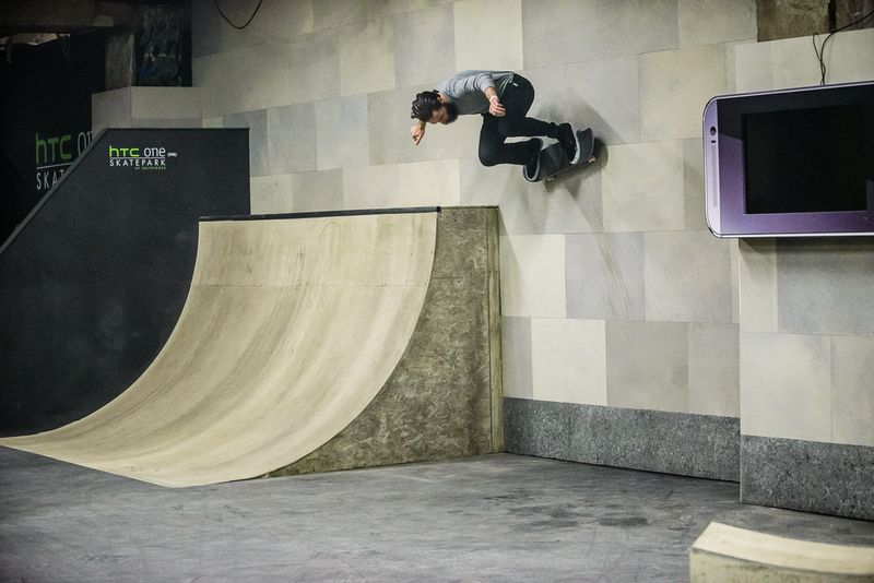 HTC - One Skatepark at Selfridges