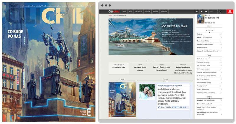 Transforming Vodafone's customer magazine Cilichili into an online  mobile ambassador.