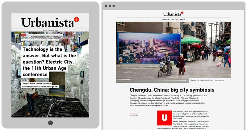 Urbanista.org website design