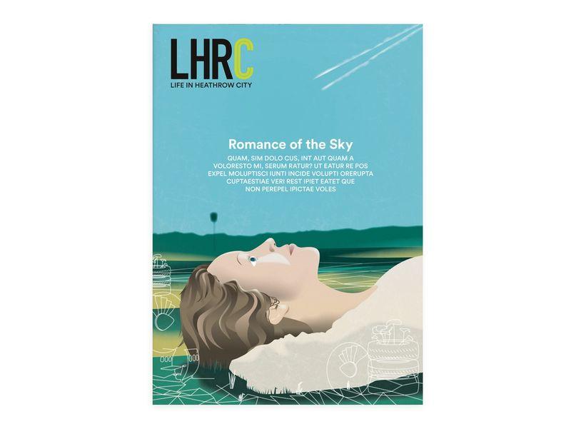 Heathrow City book design