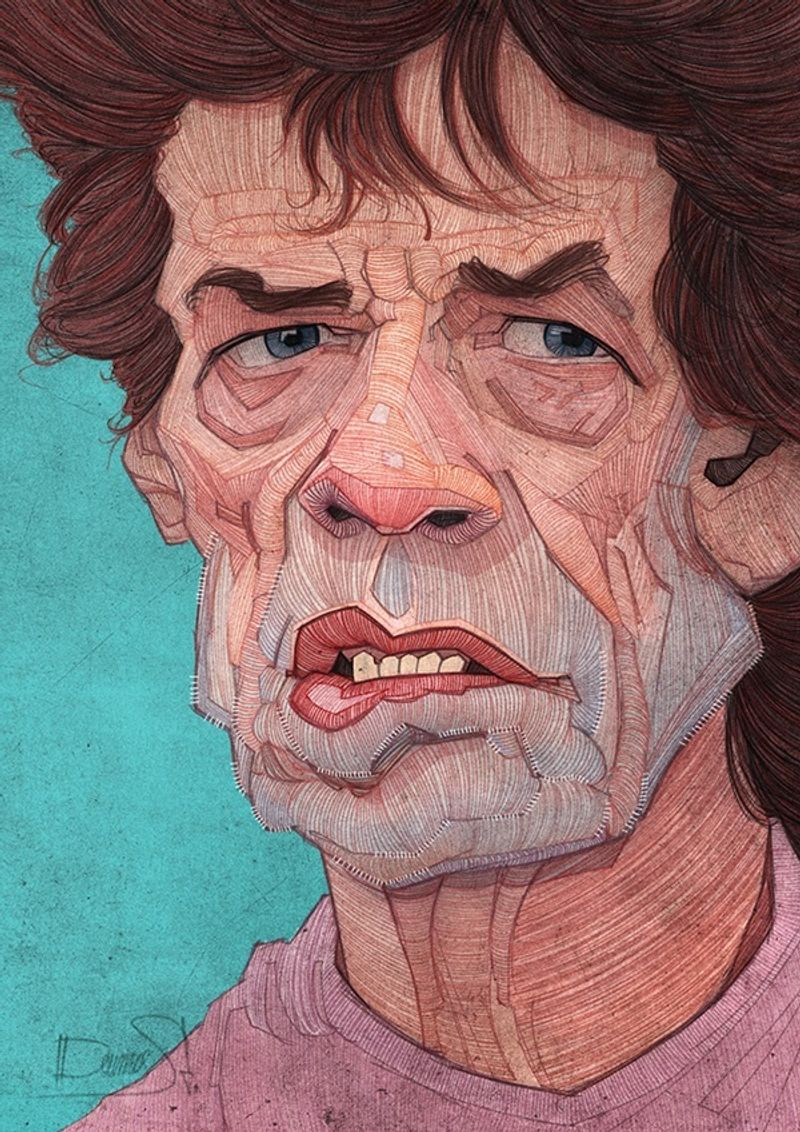 "The Fabulous "" Rolling Stones illustrated"