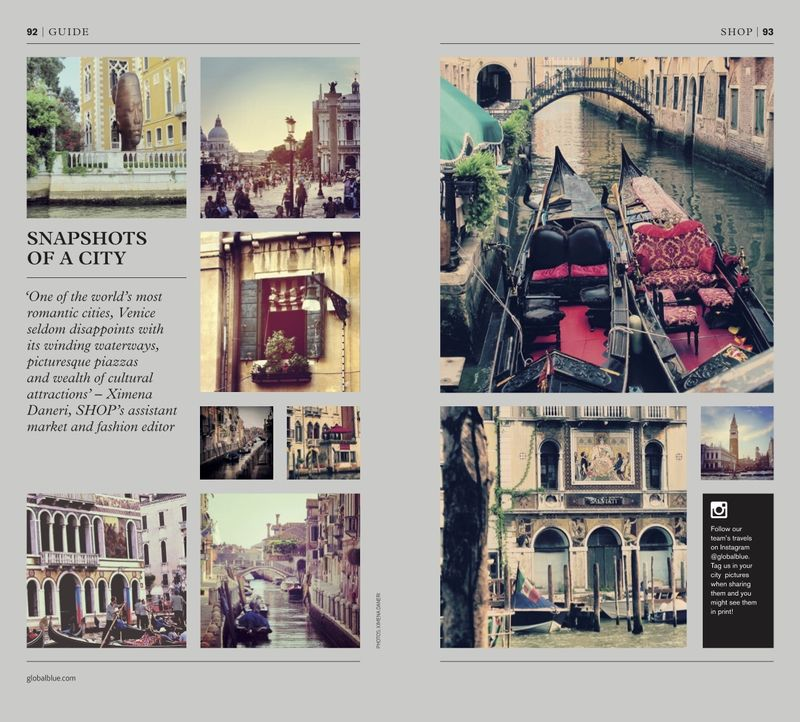 SHOP ITALY STYLE - SNAPSHOTS OF A CITY