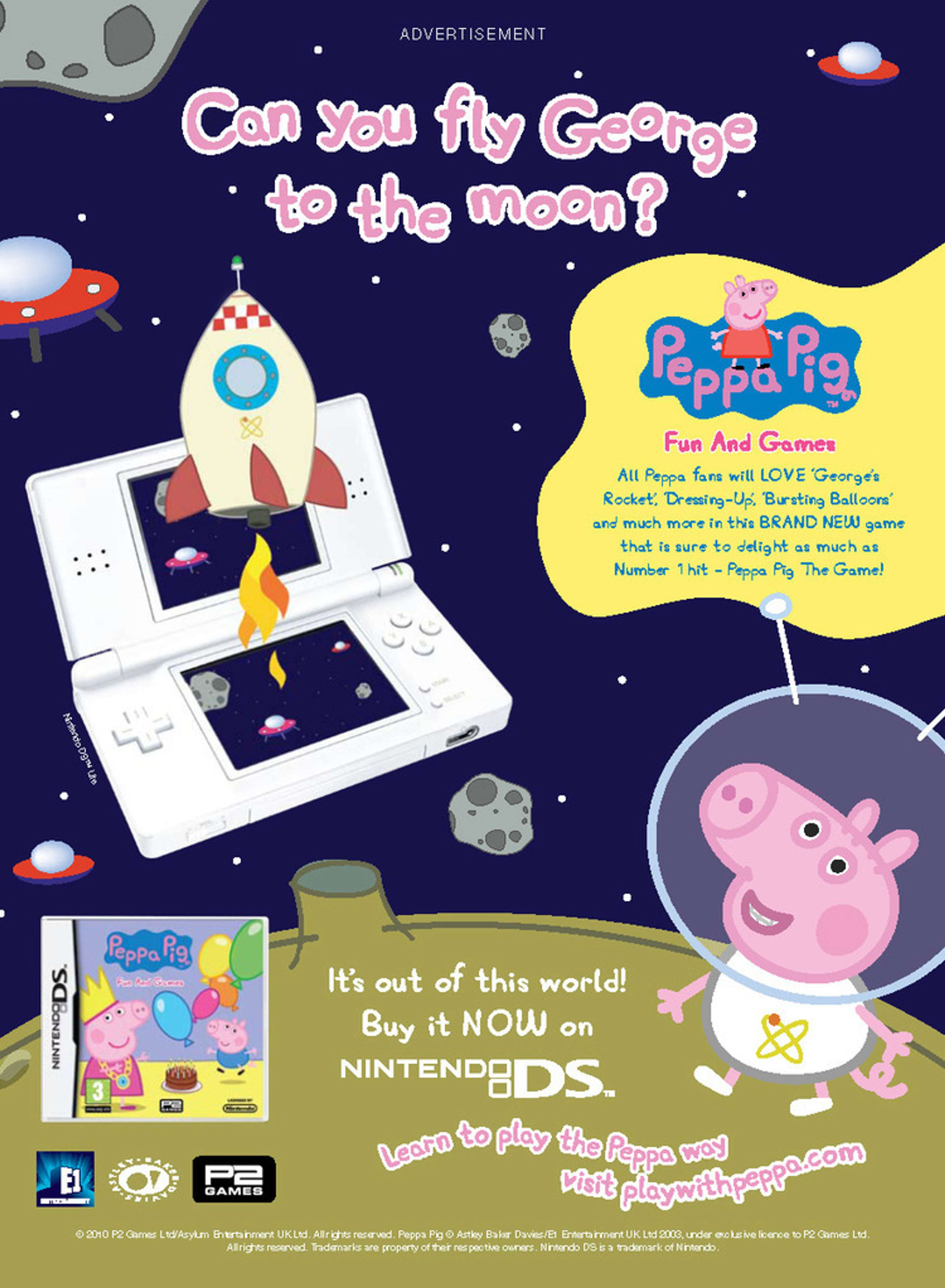 Peppa Pig Integrated Campaign The Dots