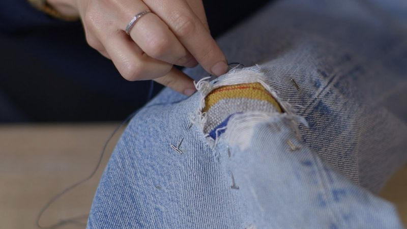 How to repair your jeans