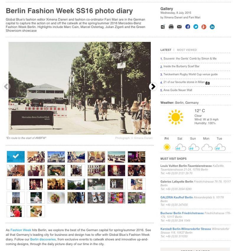 SHOP Magazine, Global Blue