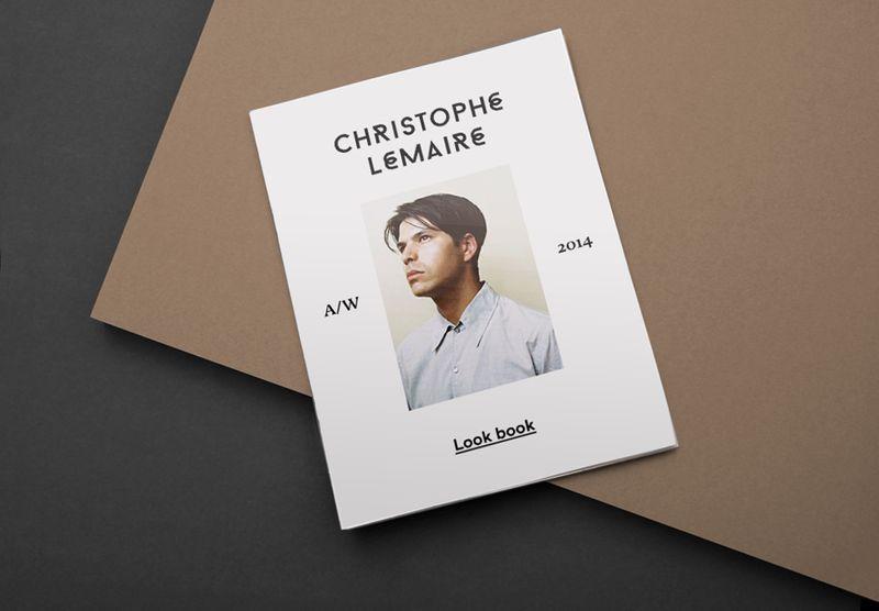 Christophe Lemaire Branding