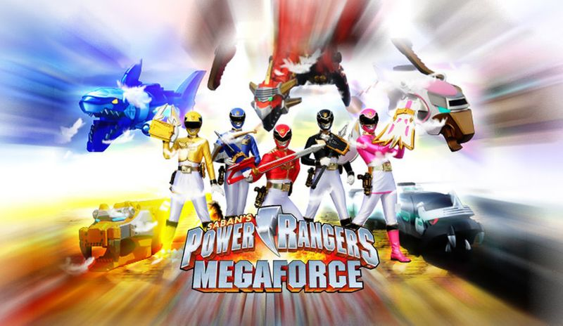 Power Rangers : Mega Force