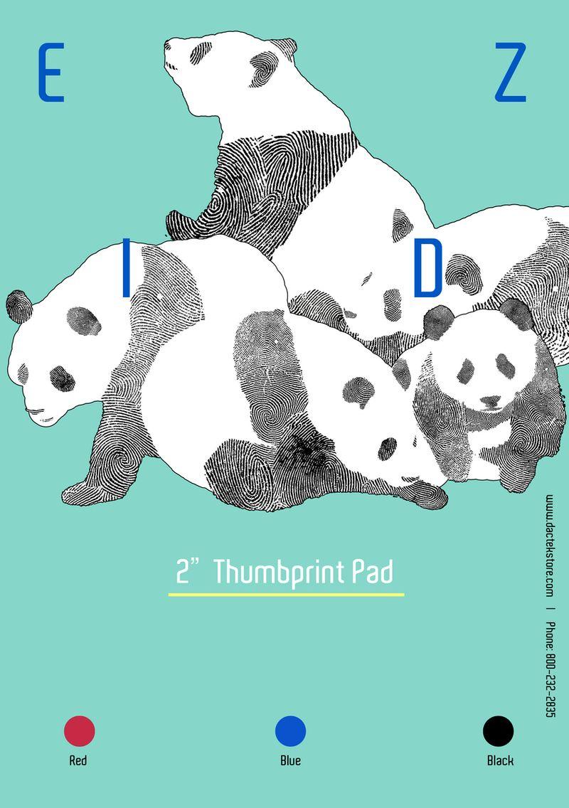 DACTEK THUMBPRINT PAD FLAYER