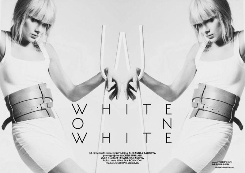 White on White/ No Cigar Magazine