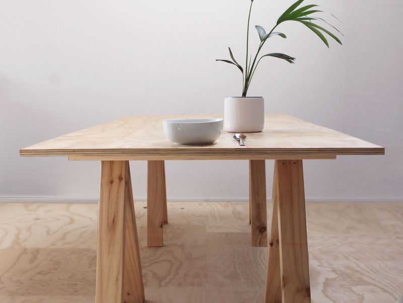 Plywood Table