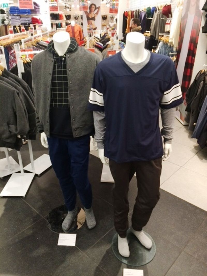 Male Mannequin Styling