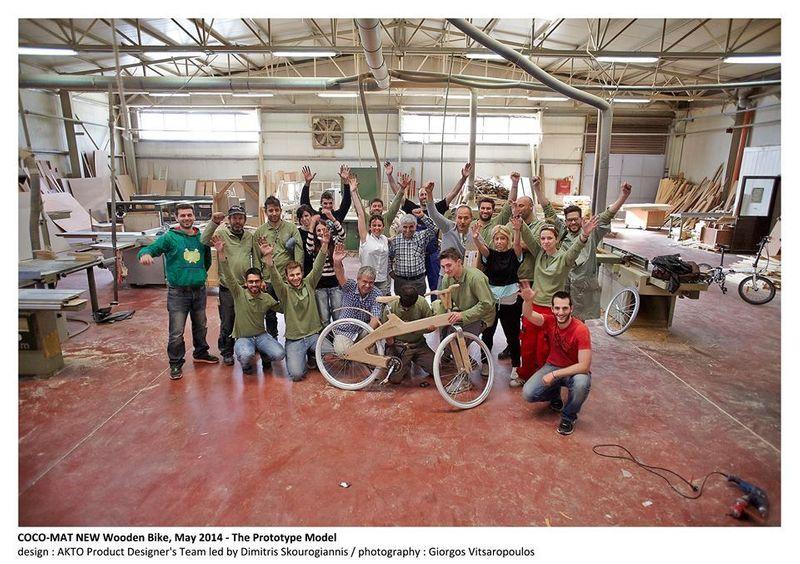 Coco-Mat Wooden Bike