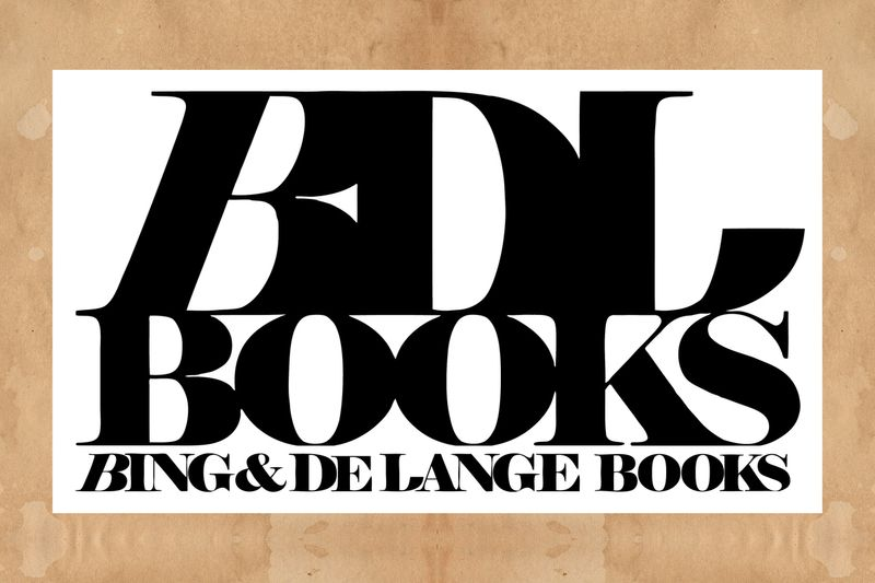 Bing & De Lange Books