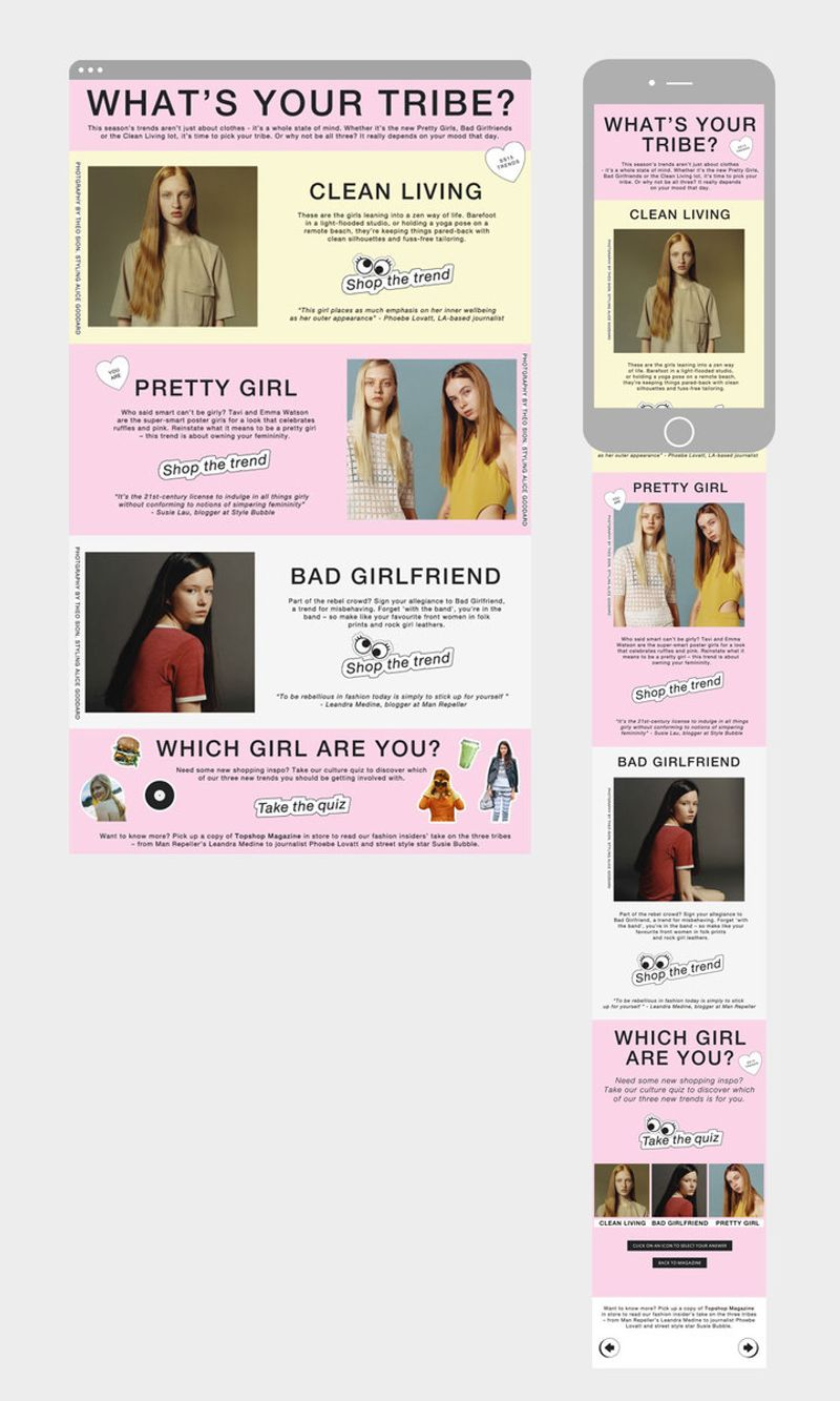 Topshop Digital Zine