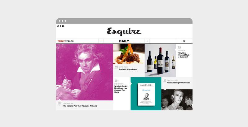 Esquire Magazine Online