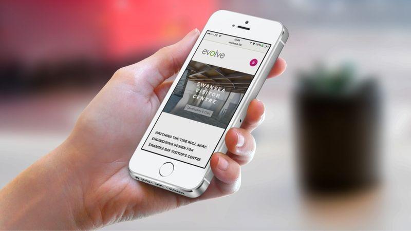 Evolve Website
