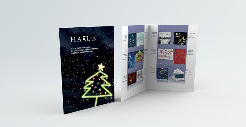 Hague Print Personalised Corporate Christmas Cards Brochure
