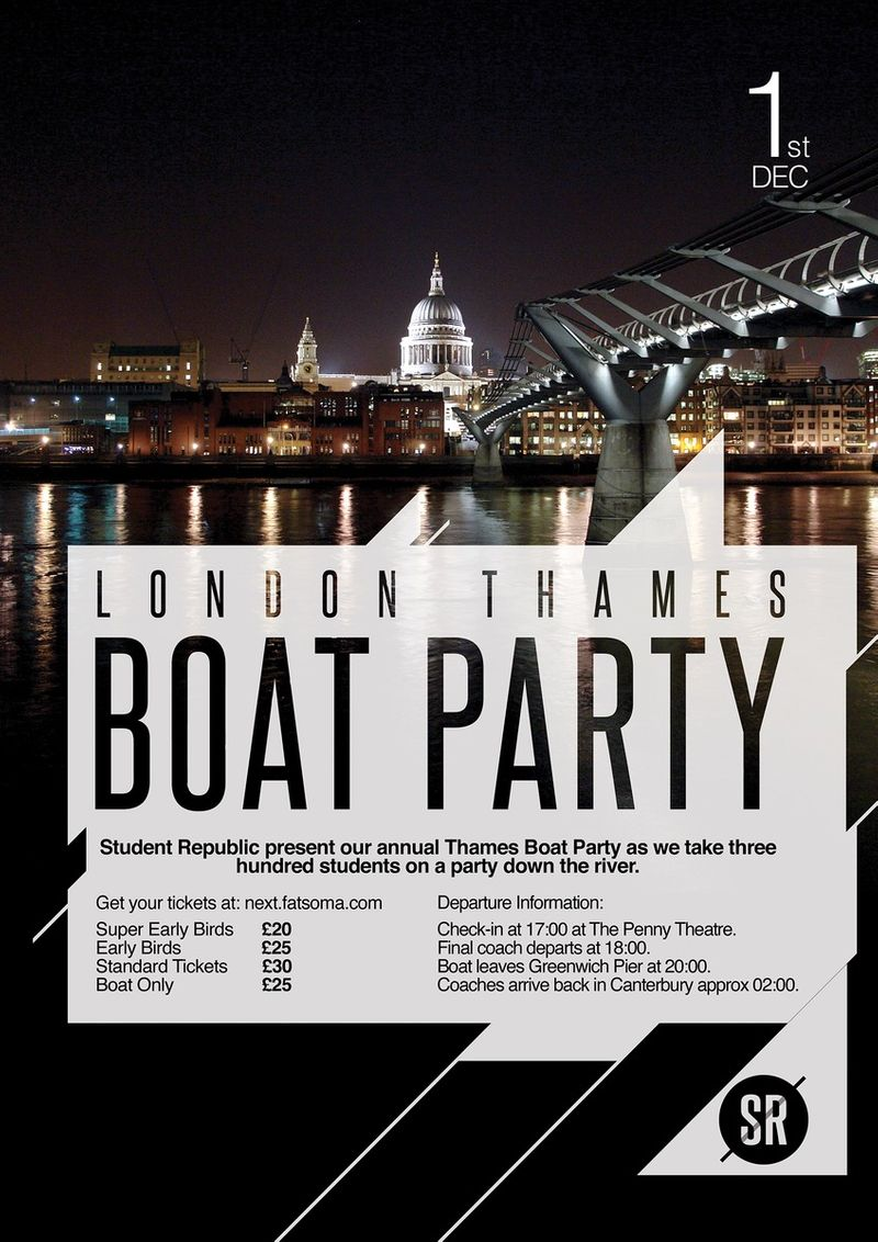 London Thames Boat Party