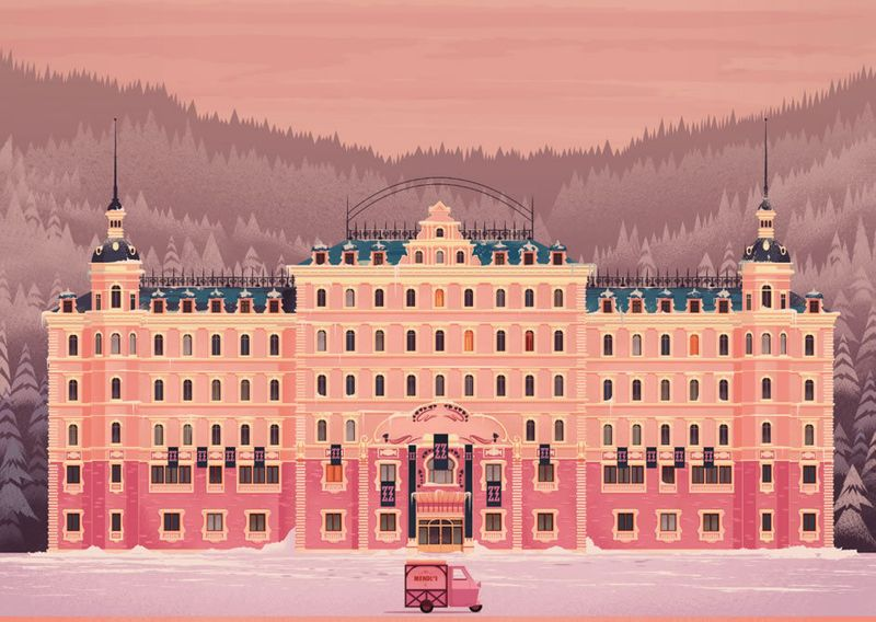 James Gilleard - The Grand Budapest Hotel