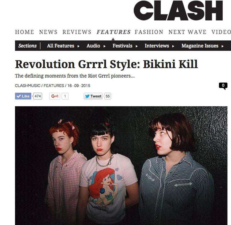 Revolution Grrrl Style: Bikini Kill