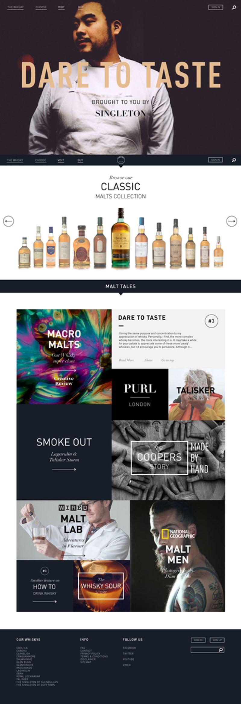 Malts.com redesign