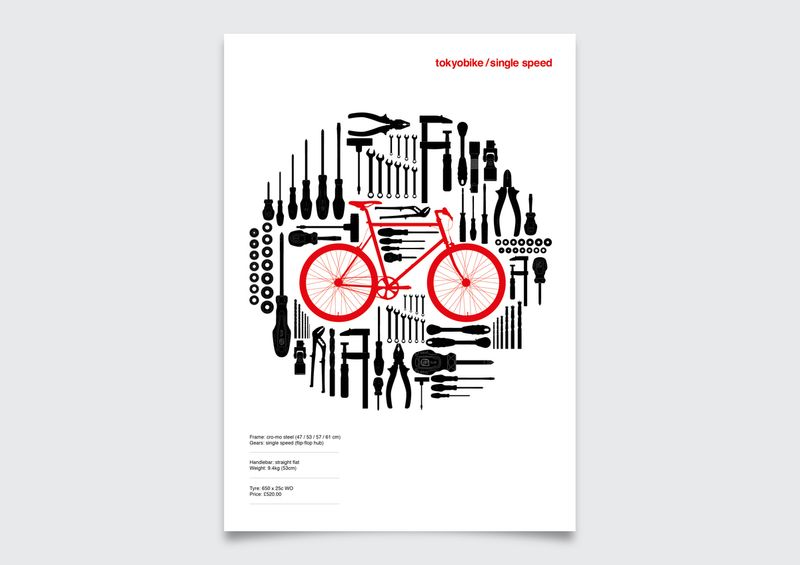 Tokyobike Poster Design