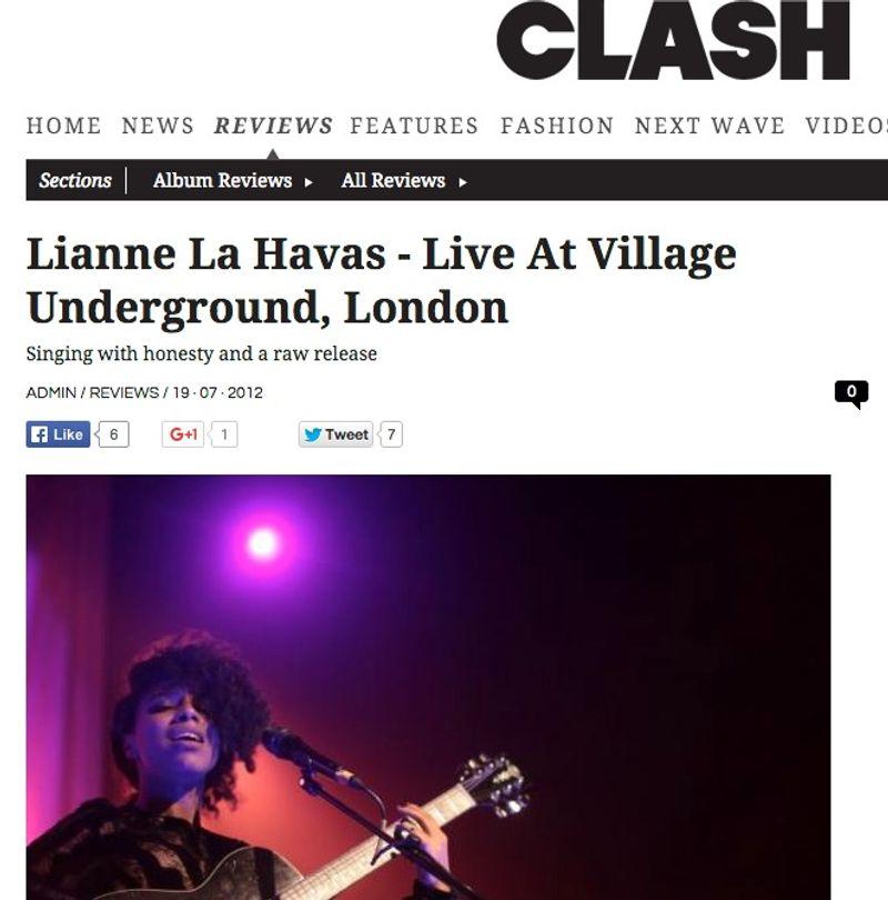 Lianne La Havas - Live At Village Underground, London