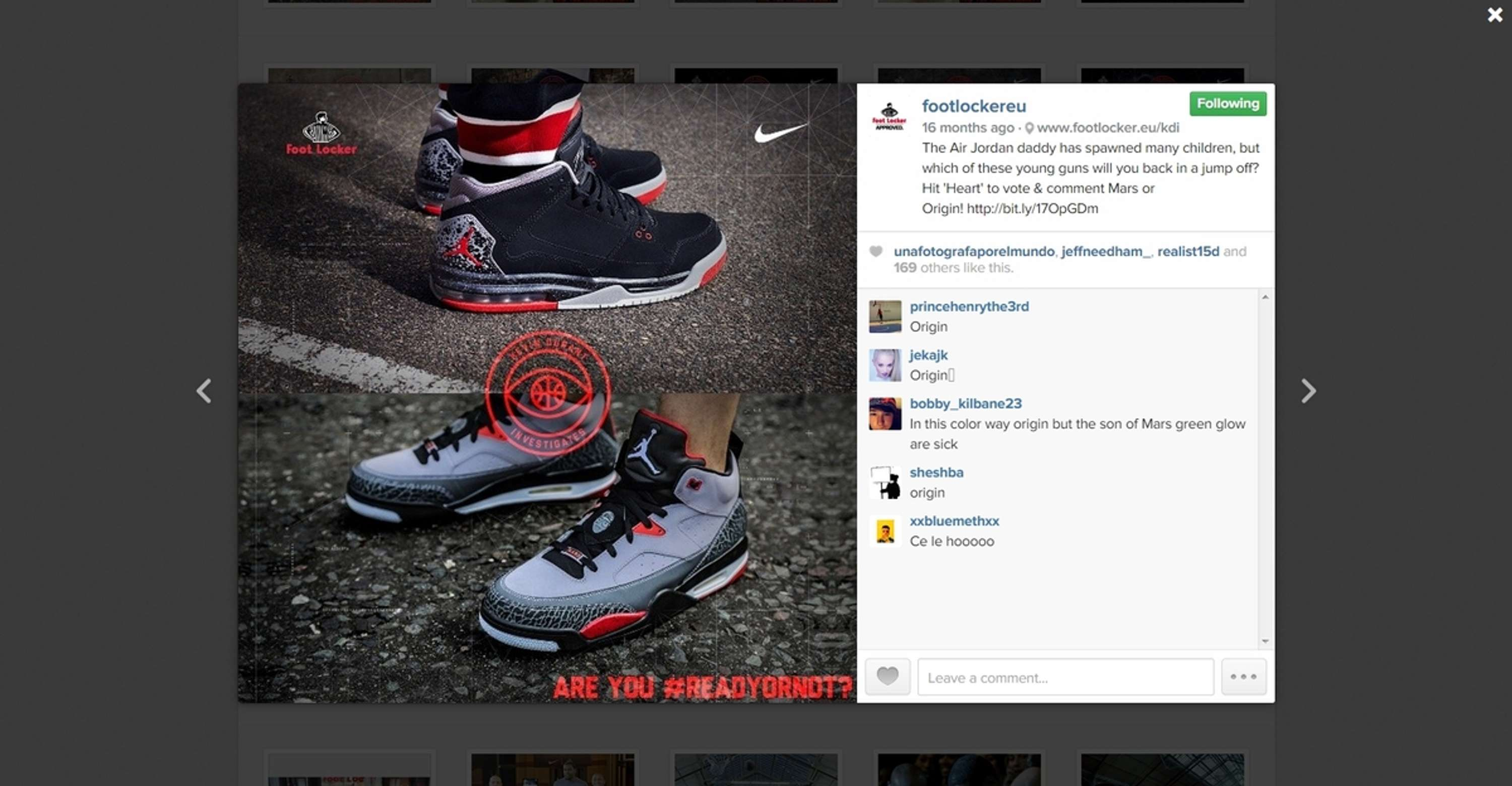 432a7371a8bd Write copy and create visuals for Nike Footlocker campaign.