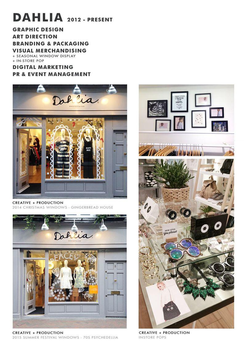 DAHLIA   Visual Merchandising