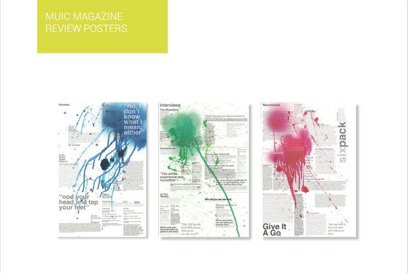 Music Magazine Posters