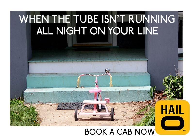 Hailo, book a cab now