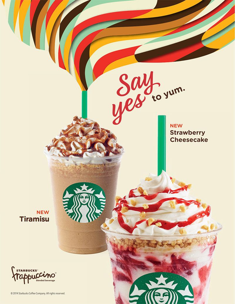Say Yes, Starbucks Summer Campaign