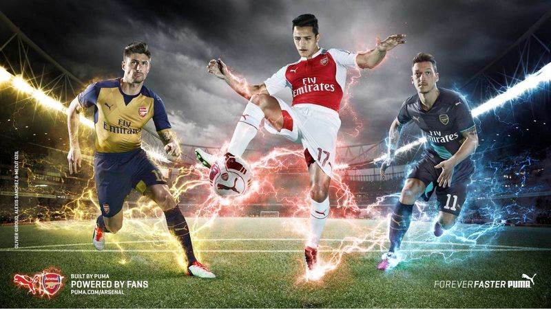 Arsenal FC Kit Launch 2015