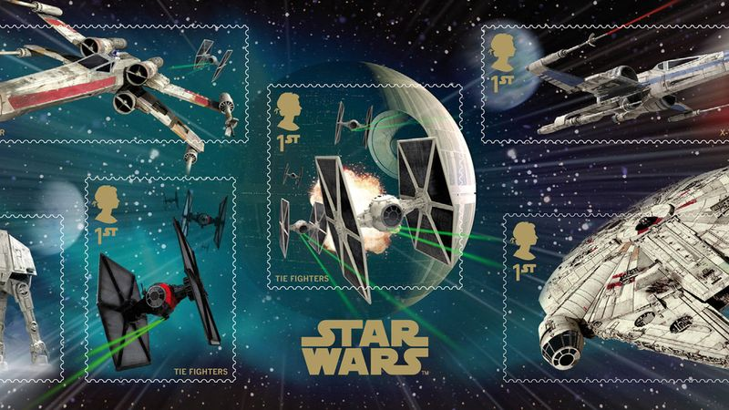 Star Wars - Special Edition Stamps