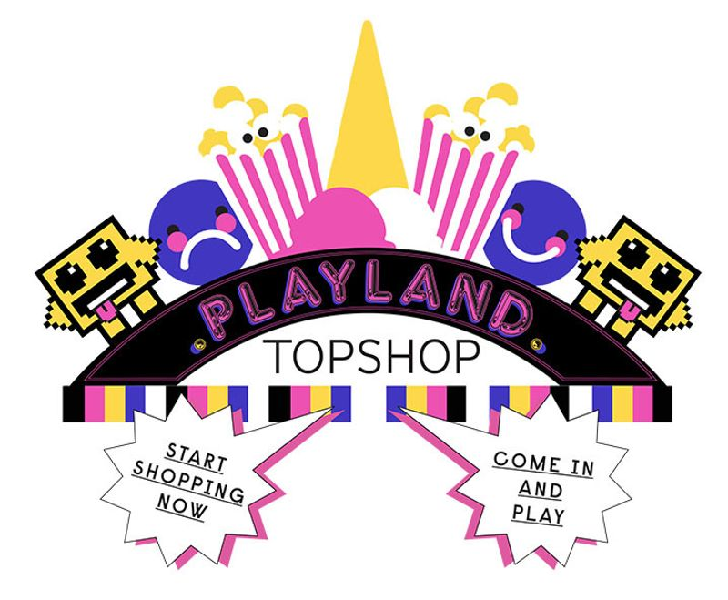 TOPSHOP PLAYLAND GAME