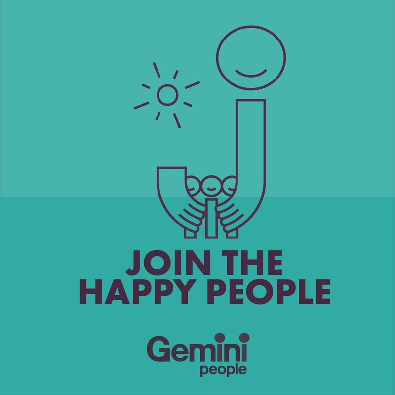 JOIN THE HAPPY PEOPLE