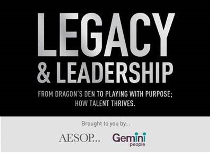 LEGACY + LEADERSHIP